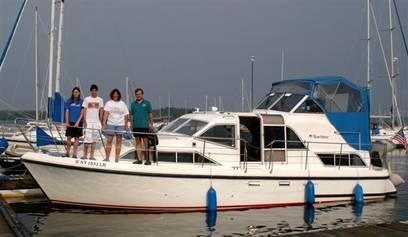 Family Cruising on Lake Champlain