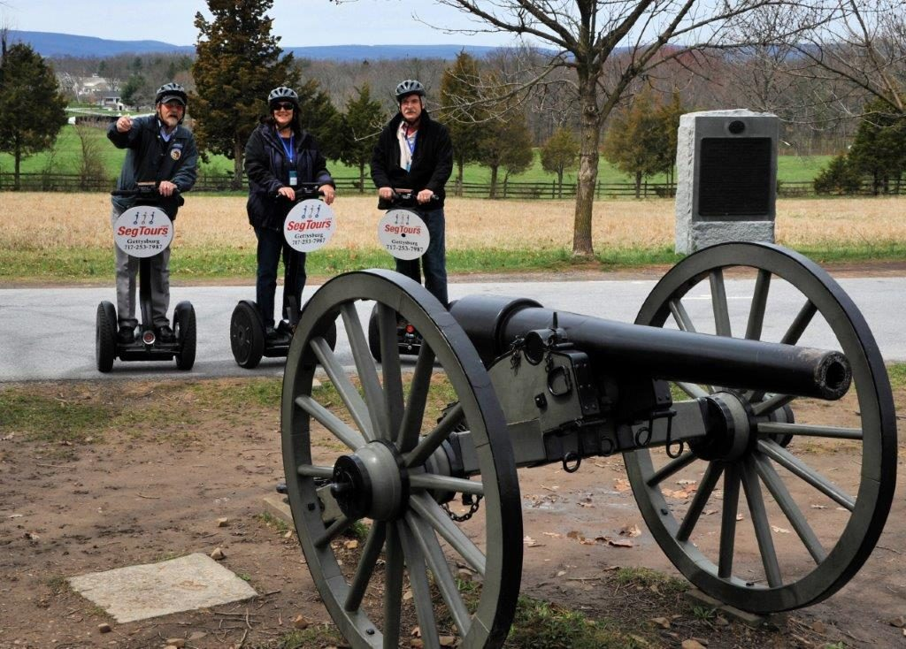 Gettysburg:  Fun and History on a Segway